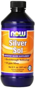 Now Foods Silver Sol 10 Ppm Liquid, 8 Ounce