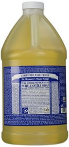 "Dr. Bronner""s Fair Trade & Organic Castile Liquid Soap - (peppermint, 64 Oz)"