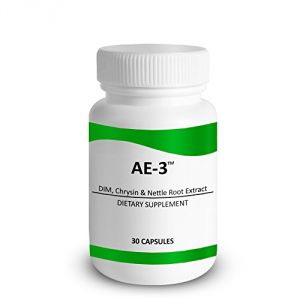 Chrysin With Dim & Stinging Nettle Root Extract - Ae-3 - Natural Aromatase Inhibitor & Estrogen Blocker For Men
