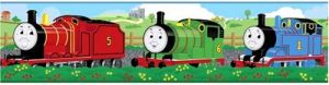 Roommates Rmk1034bcs Thomas The Tank Engine And Friends Peel And Stick Wall Border