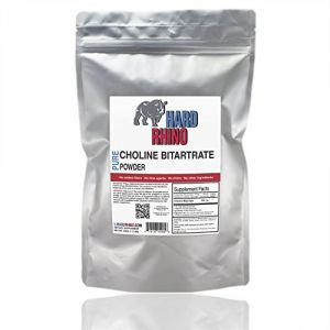500g 1.1 Lbs. Choline Bitartrate Powder Foil Sealed For Freshness. Ultra Pure Powder.