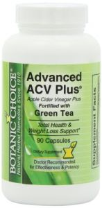 Botanic Choice Advanced Acv Plus With Green Tea, 90 Capsules