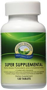 Super Supplemental 120 Tablets
