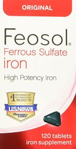 Feosol Original Vitamins, 120 Count