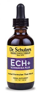"Dr. Schulze""s Echinacea Plus (ech+) Natural Herbal Product 2 Ounce Bottle"