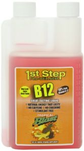 High Performance Fitness, Inc. 1st Step Liquid B-12 Tropical Blast 16-ounce, 1 Bottle