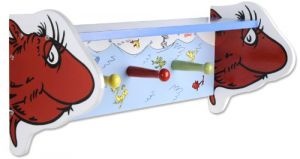 Trend Lab Dr. Seuss Shelf, One Fish Two Fish