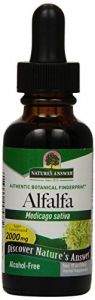"Nature""s Answer Alcohol-free Alfalfa Herb, 1-fluid Ounce"
