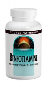 Source Naturals Benfotiamine 150mg, 120 Tablets
