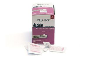 Medique Products 80533 Medi-first Aspirin, 100 Tablets, 50 X 2