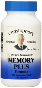 "Dr Christopher""s Formula Original Memory Plus, 100 Count"