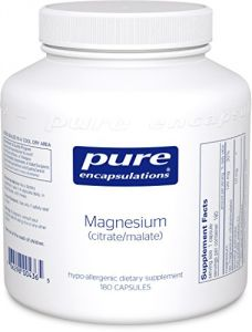 "Pure Encapsulations - Magnesium (citrate/malate) 180""s"