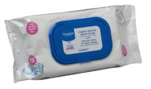 Mustela Dermo Soothing Wipes, Delicately Fragranced 70 Count