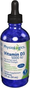 Vitamin D3 Liquid 5000iu 2 Ounces