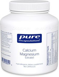 "Pure Encapsulations - Calcium/magnesium (citrate) 180""s"