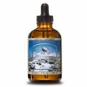 Natural Immunogenics Sovereign Silver Dropper -- 8 Fl Oz