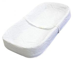La Baby 4 Sided Changing Pad 32, White