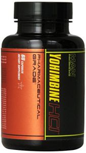Man Sports Yohimbine Hci Weight Loss Supplement, 60 Count