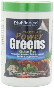 Numedica, Power Greens Chocolate 10.6 Oz