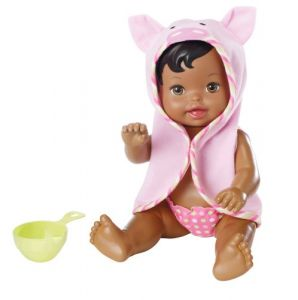 Little Mommy Scrub A Dub Dub African-american Doll