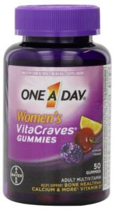 "One A Day Women""s Vitacraves Multivitamins, 50 Count"