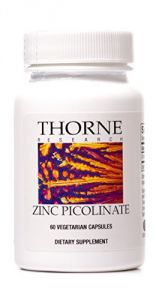 Thorne Research - Zinc Picolinate - 60 Vegetarian Capsules