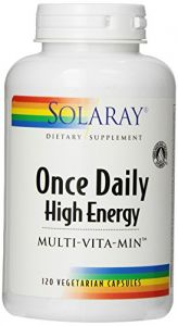 Solaray Once Daily High Energy Multivitamin 120 Capsules