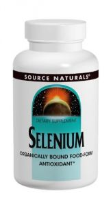 Source Naturals Selenium, 200mcg, 120 Tablets (pack Of 3)