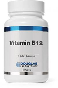 Douglas Laboratories - Vitamin B12 (2,500 Mcg) - 60 Tabs