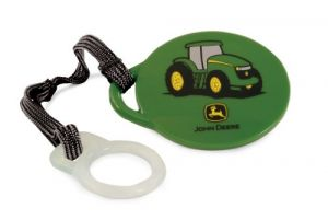 The First Years Pacifier Clip, John Deere
