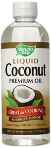 "Nature""s Way Liquid Coconut Oil 20 Oz"