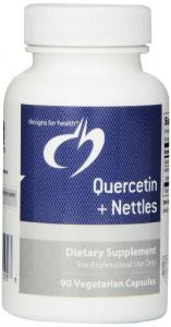 Designs For Health Quercetin Plus Nettles Vegetarian Capsules, 90 Count