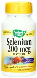 "Nature""s Way Selenium 200 Mcg, 100 Capsules"