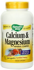 "Nature""s Way Calcium And Magnesium, 250 Capsules"