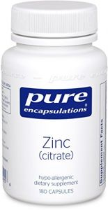 "Pure Encapsulations - Zinc (citrate) 180""s [health And Beauty]"