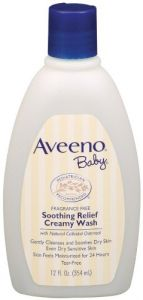 Aveeno Baby Soothing Relief Creamy Wash - 12 Oz