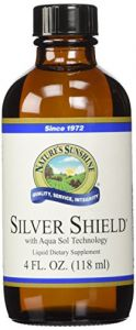 Naturessunshine Silver Shield W/aqua Sol Support Immune System (18 Ppm) 4 Fl. Oz. (pack Of 2)