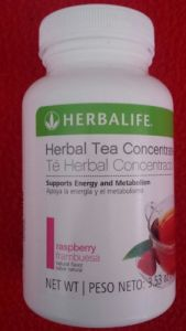 Herbalife Herbal Tea 3.5 Raspberry Flavor Fresh !!!!!!!!!