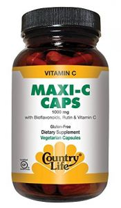 Country Life Maxi C-complex (vitamin C 1000 Mg Bioflavonoids) (tr), 180-count