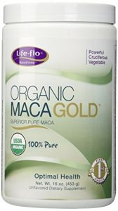 Life-flo Maca Organic Nutritional Supplements, Gold, 16 Ounce