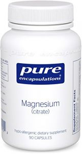 "Pure Encapsulations - Magnesium (citrate) 90""s"