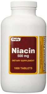 Niacin 500 Mg 1000 Tabs By Rugby