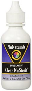 Nunaturals Pure Liquid Clear Stevia, 2 Ounces (pack Of 2)