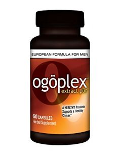 Ogoplex | Patented Graminex Swedish Flower Pollen, Saw Palmetto, Phytosterols & Lycopene - Male Prostate & Climax Enhancement Supplement -