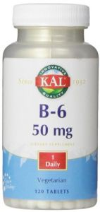 Kal B-6 Tablets, 50 Mg, 120 Count