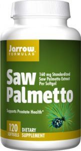 Jarrow Formulas Saw Palmetto, 120 Softgels