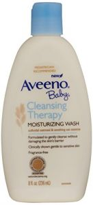Aveeno Baby Cleansing Therapy Moisturizing Wash, 8 Ounce Pack Of 2