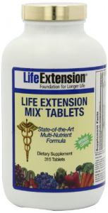 Life Extension Mix Tablets-(without Copper), 315-count