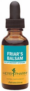 "Herb Pharm Friar""s Balsam Formula To Support Healthy Lung Expectoration - 1 Ounce"