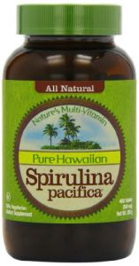 Nutrex Health Supplements - Nutrex Hawaii Hawaiian Spirulina Pacifica 500 mgs., 400-tablet Bottle